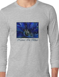 Nature in Blues Long Sleeve T-Shirt