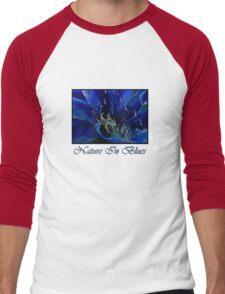 Nature in Blues Men's Baseball ¾ T-Shirt