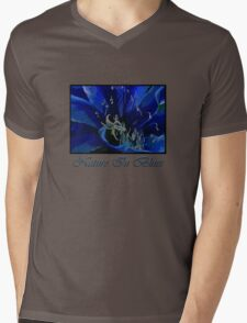 Nature in Blues Mens V-Neck T-Shirt