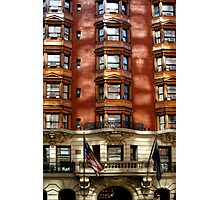 Reflection On Building in New York Photographic Print