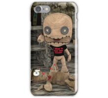 The Voodoo Doll iPhone Case/Skin