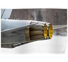 Swiss Air Force McDonnell Douglas F/A-18C Hornet Poster