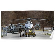 Swiss Air Force Eurocopter EC635 Poster
