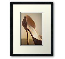 The SHOE by Jimmy Choo Framed Print