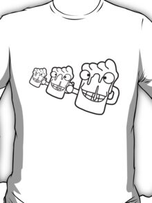 Funny Comic Beers T-Shirt
