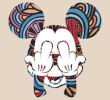 Mickey Hippie Head II by JohnnySilva
