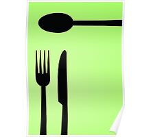 Cutlery Two Poster