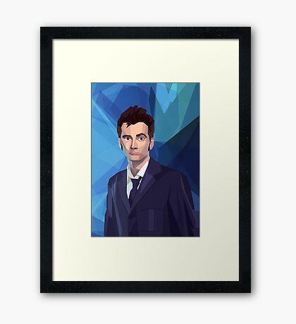 Dr 10 fragged Framed Print