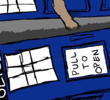 What if Gollum had TARDIS... Sticker