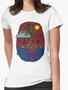 Island full of Death Womens Fitted T-Shirt