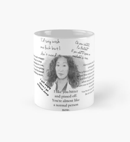 Cristina Yang Best quotes Mug