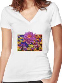 Joy of Colour Women's Fitted V-Neck T-Shirt