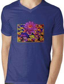 Joy of Colour Mens V-Neck T-Shirt