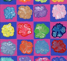 Pop Flowers by Melissa Vijay Bharwani