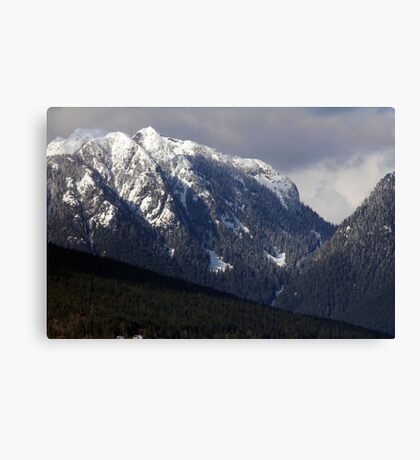 Crown Mountain Canvas Print