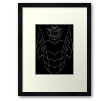 Cyber Conversion Framed Print