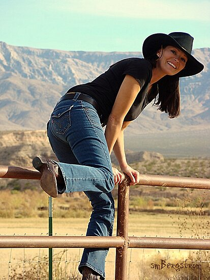 All American Cowgirl by Susan Bergstrom