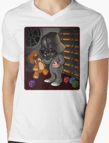 BABY VADER Mens V-Neck T-Shirt