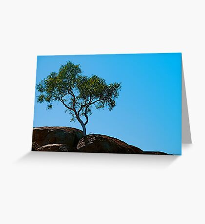 Rooted in Rock Greeting Card