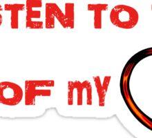 Music of my stethoscope Sticker
