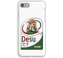 DESU !!! iPhone Case/Skin