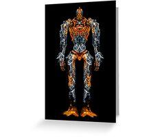 BATTLE ROBOT Greeting Card