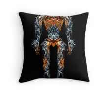 BATTLE ROBOT Throw Pillow