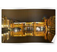 Firenze - Ponte Vecchio Poster