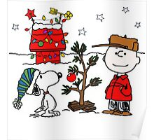 Snoopy and Charlie Brown Poster