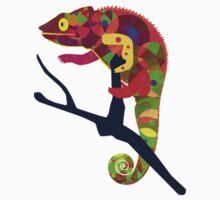 Paper Craft Chameleon Kids Tee