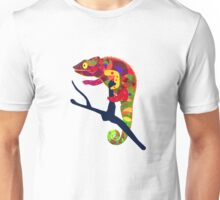 Paper Craft Chameleon Unisex T-Shirt
