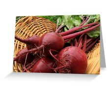 Fresh Beets Greeting Card