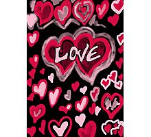 Abstract Love Photographic Print