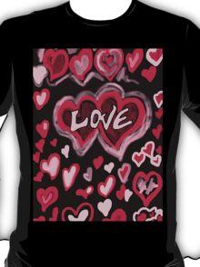 Love abstract T-Shirt
