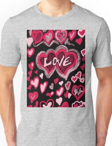 Love abstract Unisex T-Shirt