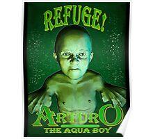 Arturo the Aqua Boy Poster