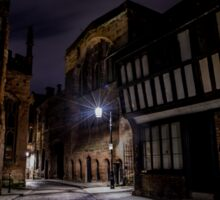 Coventry at Night - Old Town Sticker
