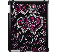 Neon love iPad Case/Skin