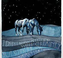 Horses by samcannonart