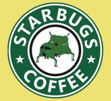 Starbugs (Starbucks) Coffee Baby Tee