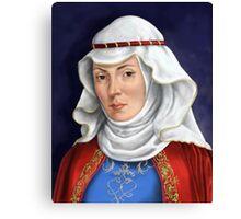 Eleanor Of Aquitaine Canvas Print