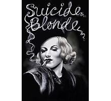 Suicide Blonde Photographic Print