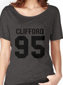 Michael Clifford - College style [Black] Women's Relaxed Fit T-Shirt