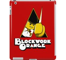 Blockwork Orange iPad Case/Skin
