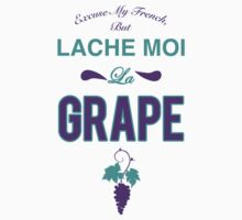 Lache moi la grape (Off my grape) - Jordan 5 Grape match by Chigadeteru