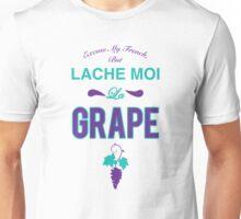 Lache moi la grape (Off my grape) - Jordan 5 Grape match T-Shirt
