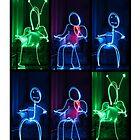 Light Painting People by SkyGazingMerch