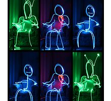 Light Painting People by SkyGazingMerch