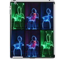 Light Painting People iPad Case/Skin