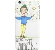 Space Bumble Bees iPhone Case/Skin